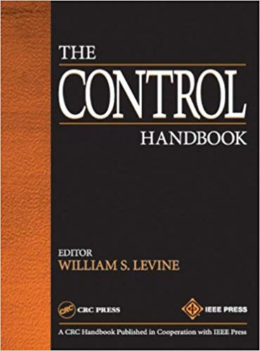 Cover of The Control Handbook - black cover with the title in white text and a brown stripe down the side